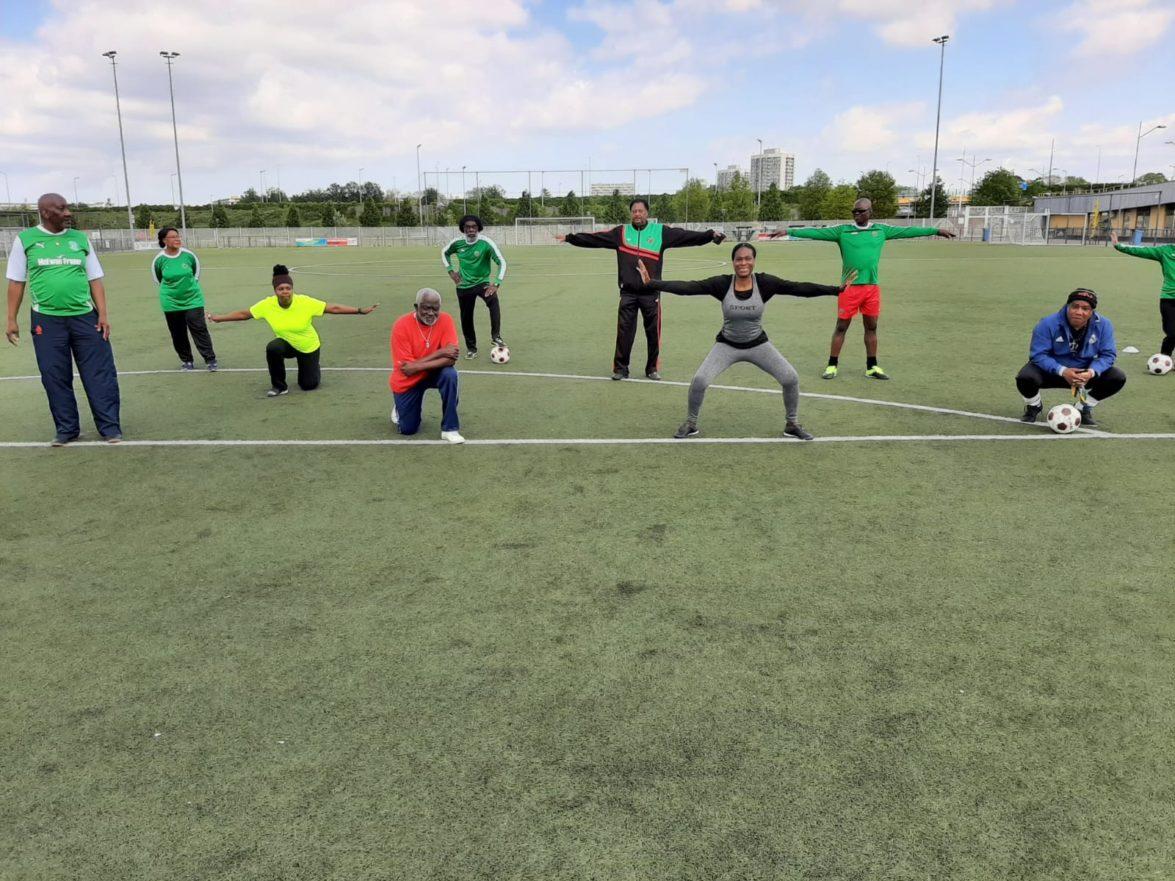 Trainingen Walking Football weer gestart