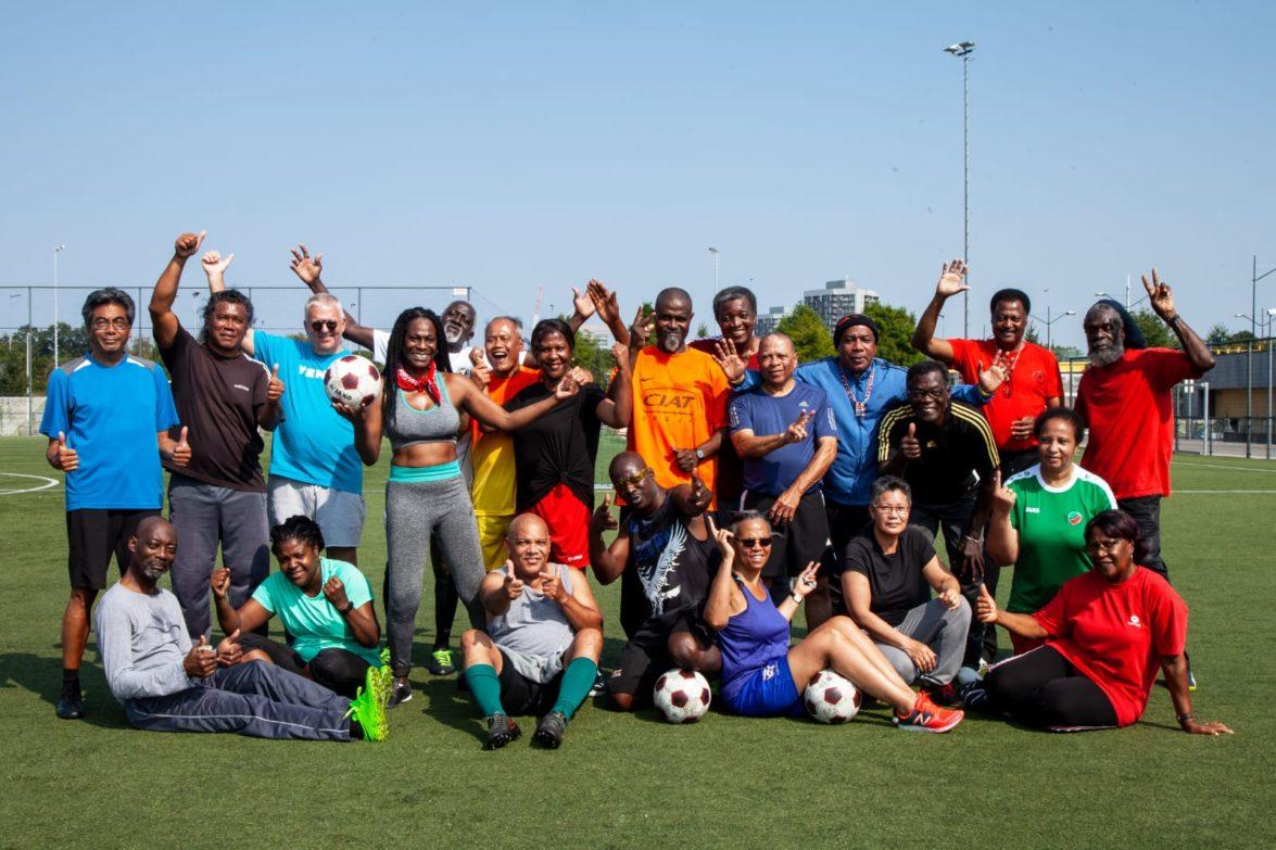 OldStars Zuidoost United starten training conform RIVM-regels